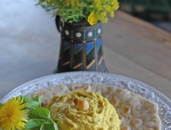 Avinžirnių paštetas (Hummus)