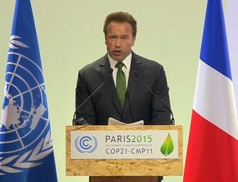 "Arnoldas Schwarzeneggeris: ""Prisijunkite prie manęs, jei norite gyventi"""