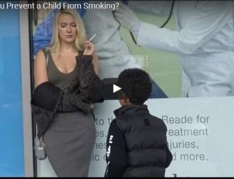 Ar bandytumėt atkalbėti vaiką nuo rūkymo?