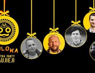 Švęskime Naujus blaiviai! Goloka Mantra Party Naujieji 2017