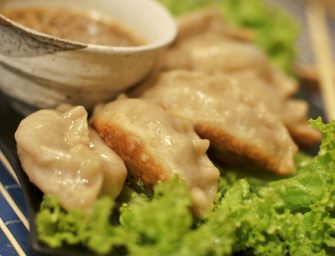 """Tibetietiški vegetariniai """"Momo"""""""