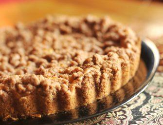 Džiovintų abrikosų pyragas