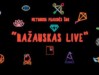 """Balarama.lt aplenkė visą pasaulį – startuoja unikali laida """"Ražauskas Live"""""""