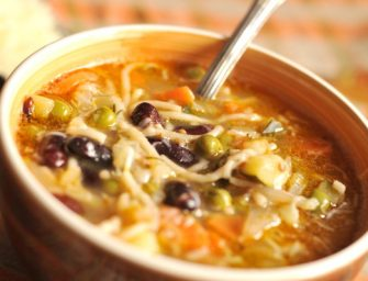 """Itališka sriubų sriuba – """"Minestrone"""""""