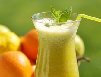 Reto gardumo derinys – mėtos ir apelsinai