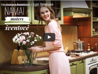 Eglė Terekaitė. Namai – tai moters šventovė (video)