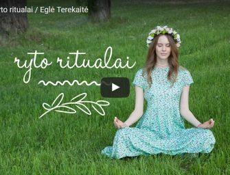 Eglė Terekaitė. Penki ryto ritualai (video)