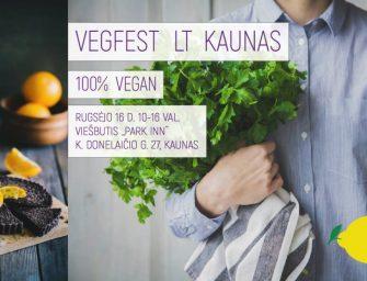 """Augalinio maisto festivalis """"Vegfest LT Kaunas"""" pateiks staigmenų ir nuolaidų"""
