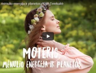 Eglė Terekaitė. Moteris, mėnulio energija ir planetos (video)